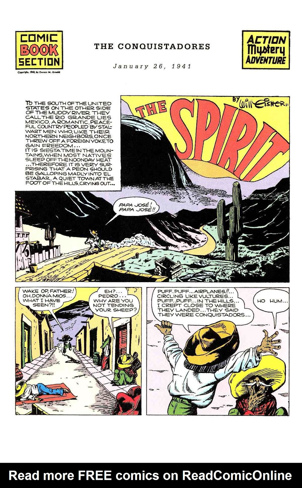 Read online Will Eisner's The Spirit Archives comic -  Issue # TPB 2 (Part 1) - 25
