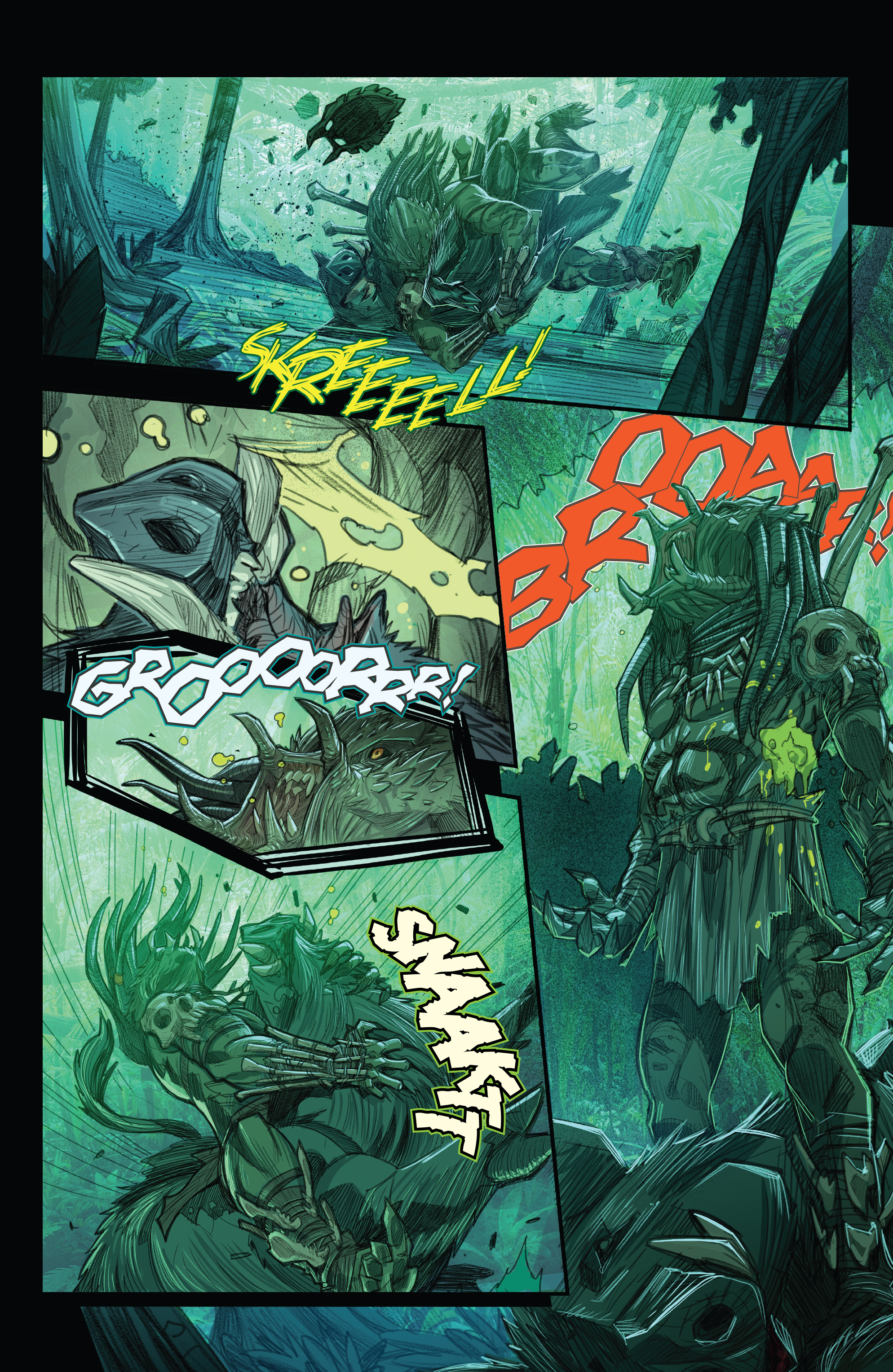 Read online Predator: Hunters comic -  Issue #2 - 24