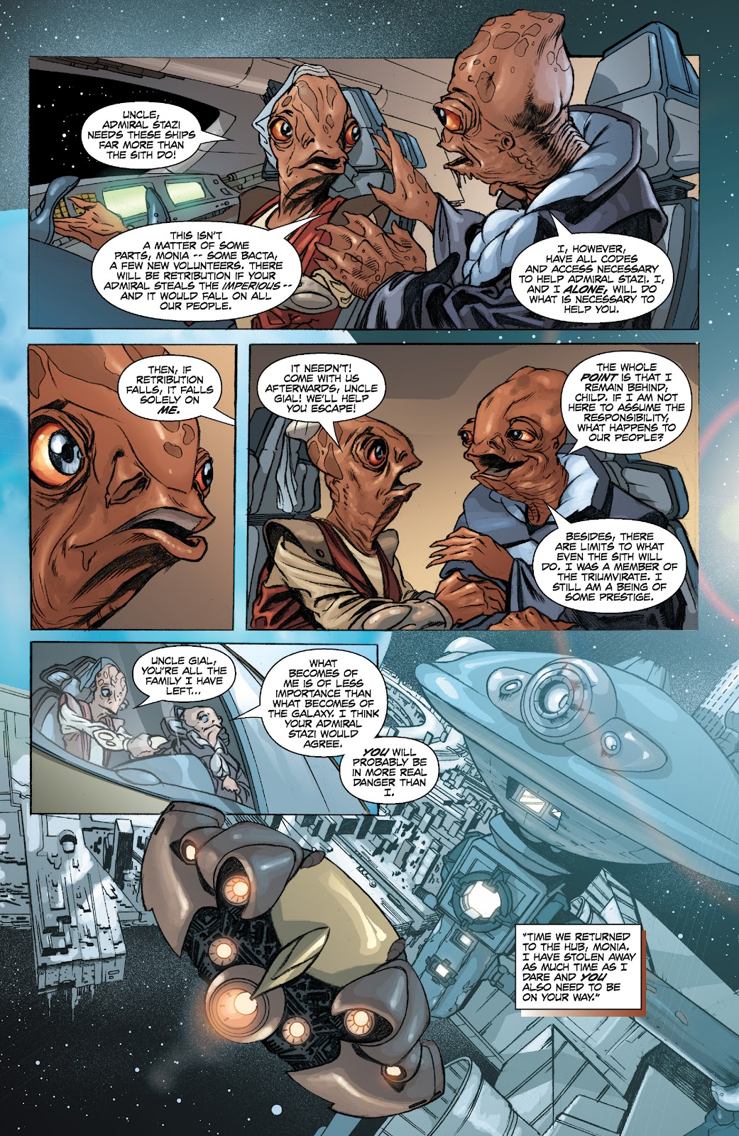 Read online Star Wars Legends: Legacy - Epic Collection comic -  Issue # TPB 2 (Part 1) - 13