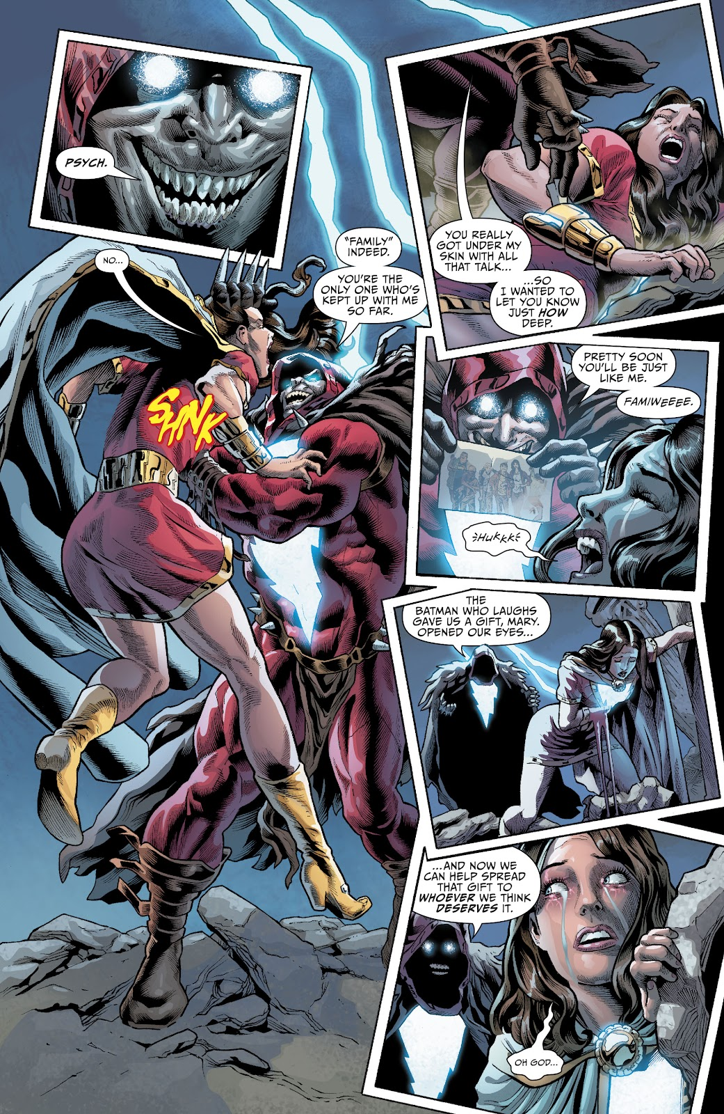 Read online The Infected: King Shazam comic -  Issue # Full - 21