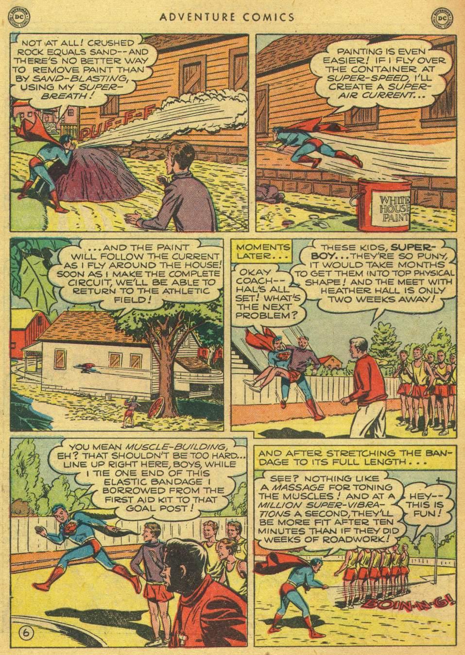 Read online Adventure Comics (1938) comic -  Issue #162 - 8
