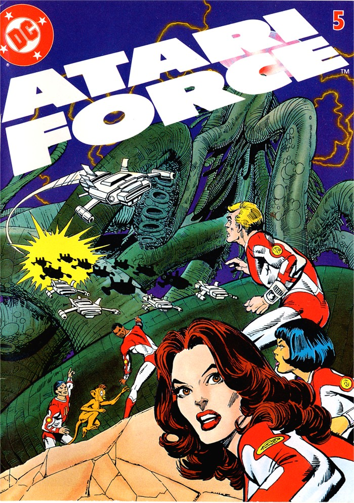 Read online Atari Force (1982) comic -  Issue #5 - 1