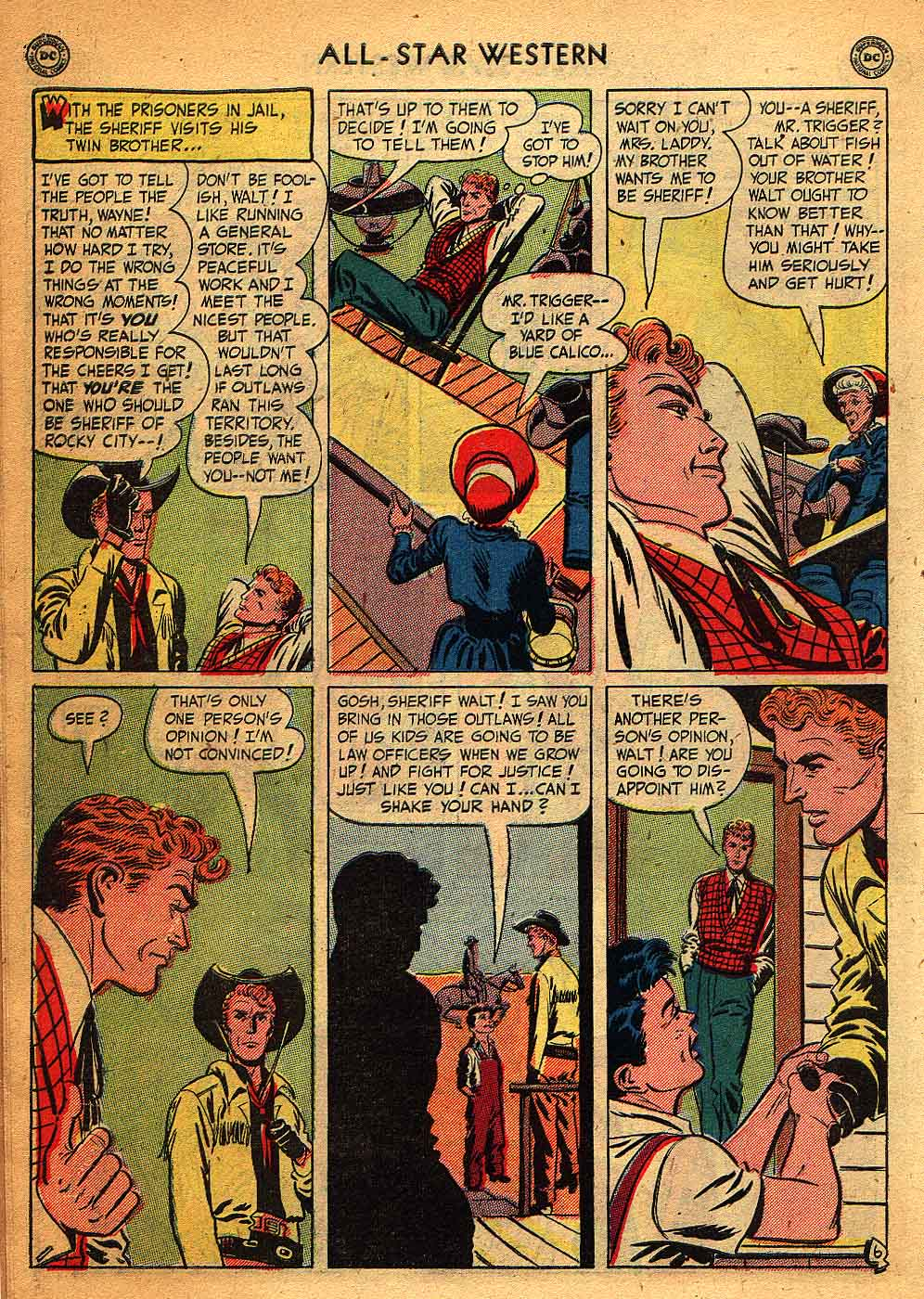 Read online All-Star Western (1951) comic -  Issue #58 - 8