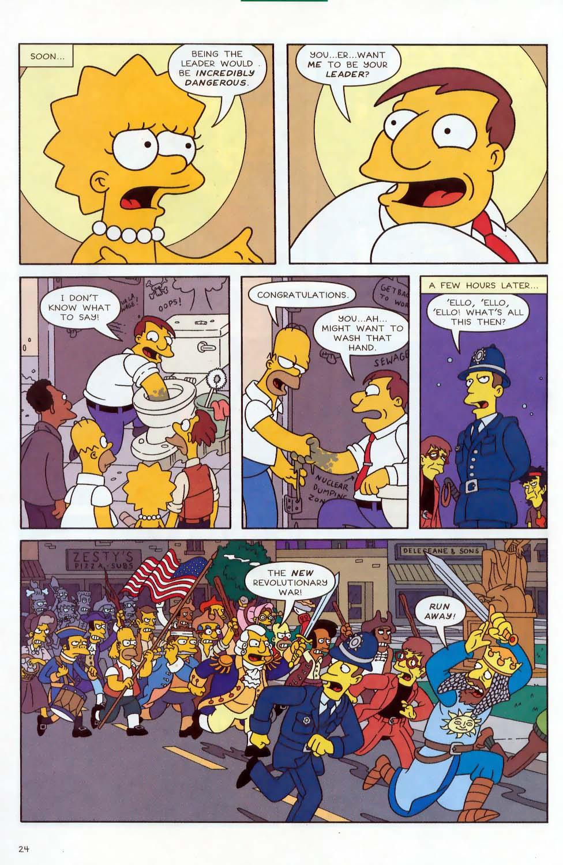 Read online Simpsons Comics comic -  Issue #87 - 25
