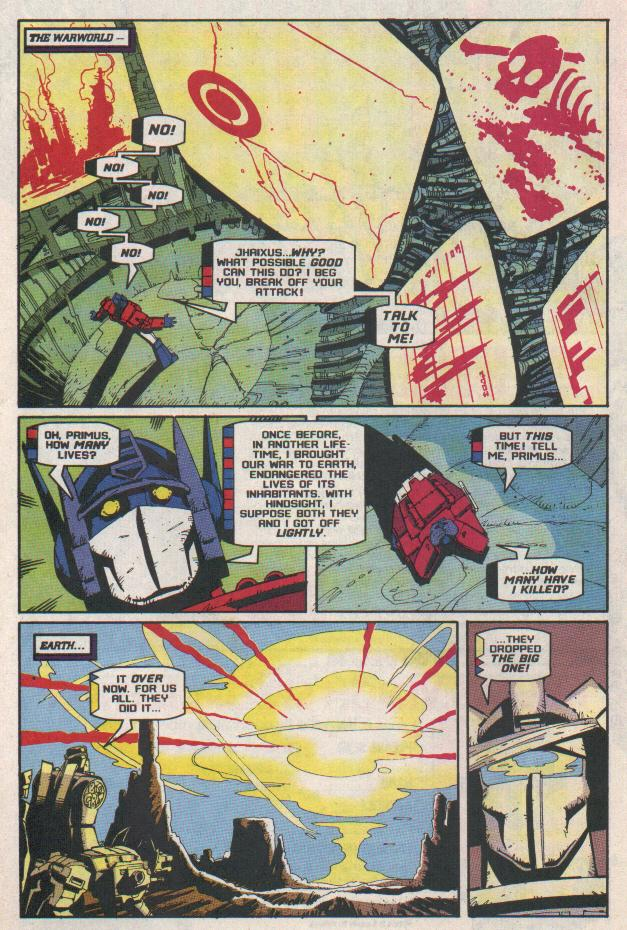 Read online Transformers: Generation 2 comic -  Issue #11 - 20