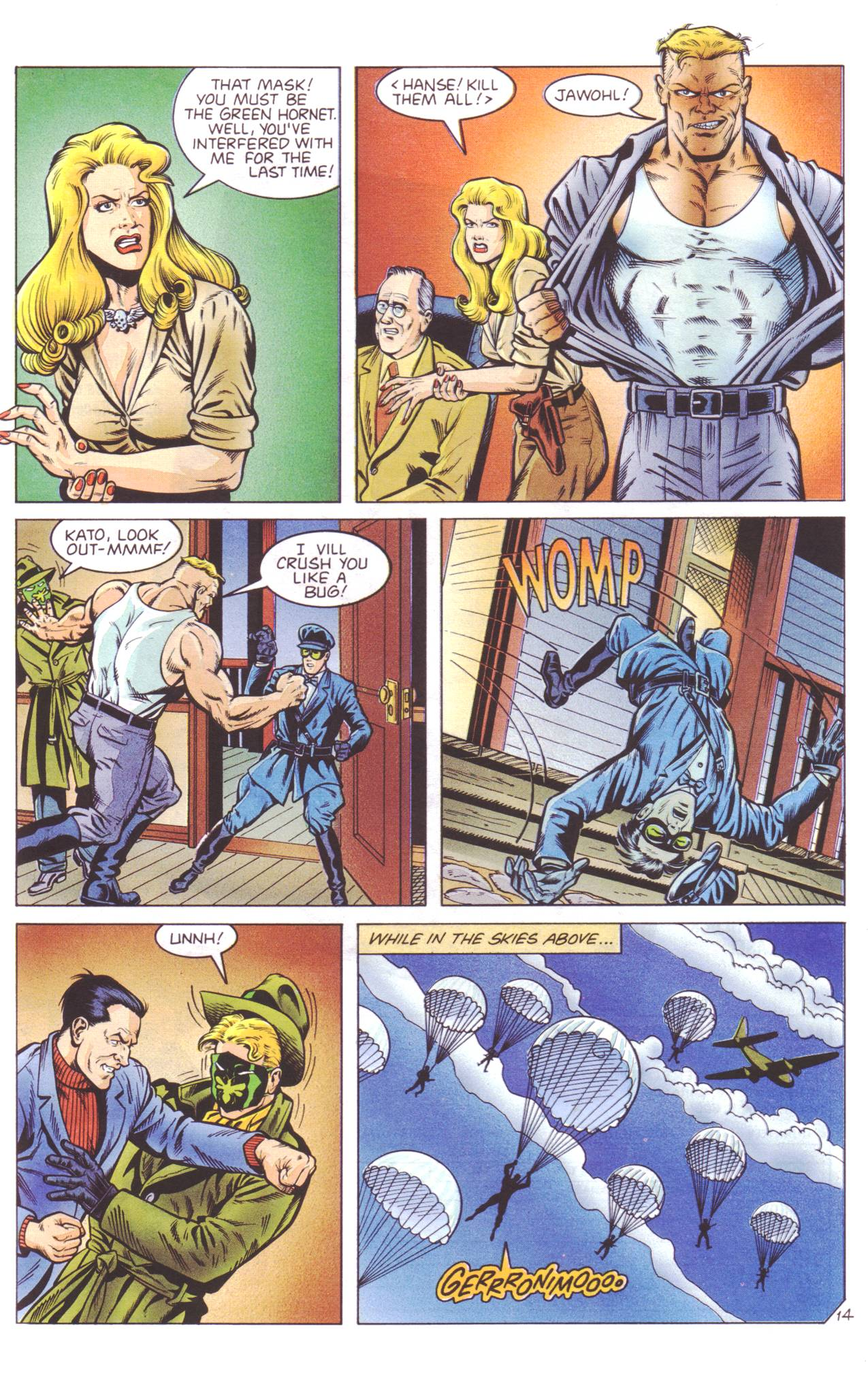 Read online Sting of The Green Hornet comic -  Issue #4 - 15