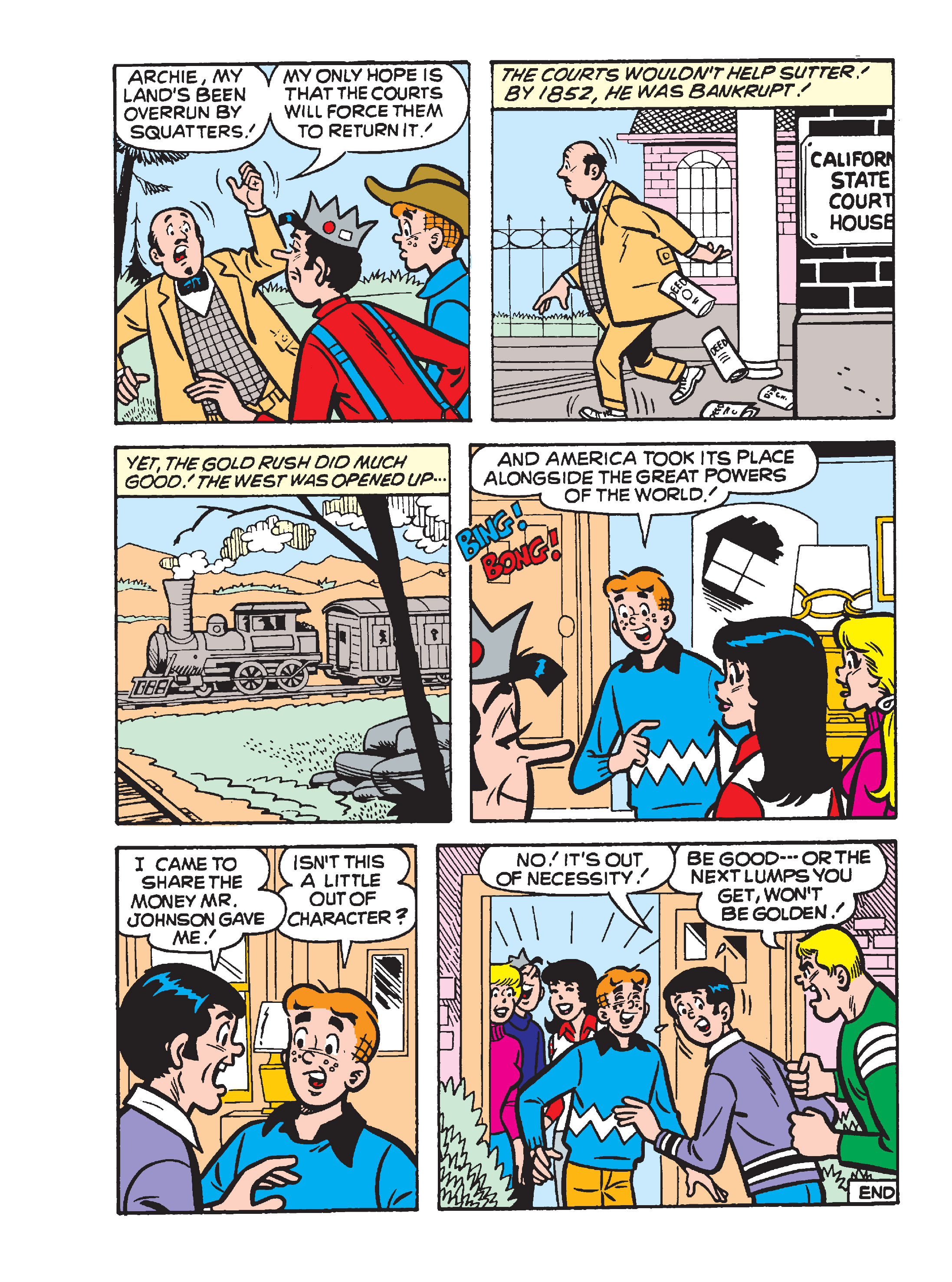 Read online Archie's Funhouse Double Digest comic -  Issue #15 - 118