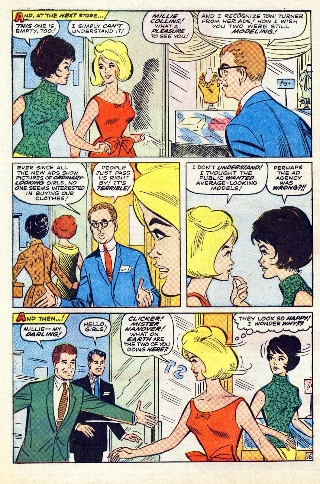 Read online Millie the Model comic -  Issue # Annual 5 - 62