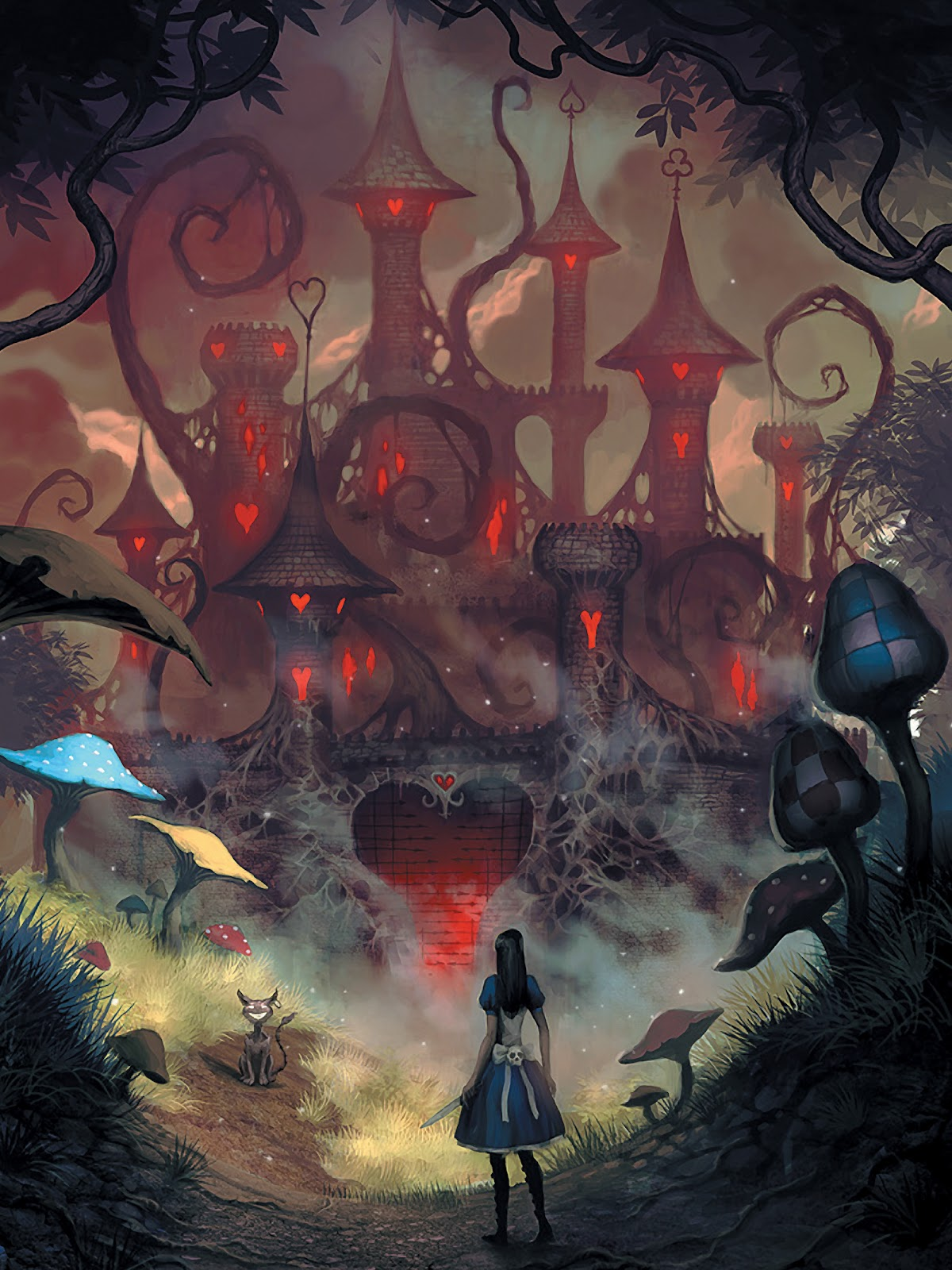 Read online The Art of Alice: Madness Returns comic -  Issue # TPB (Part 1) - 4