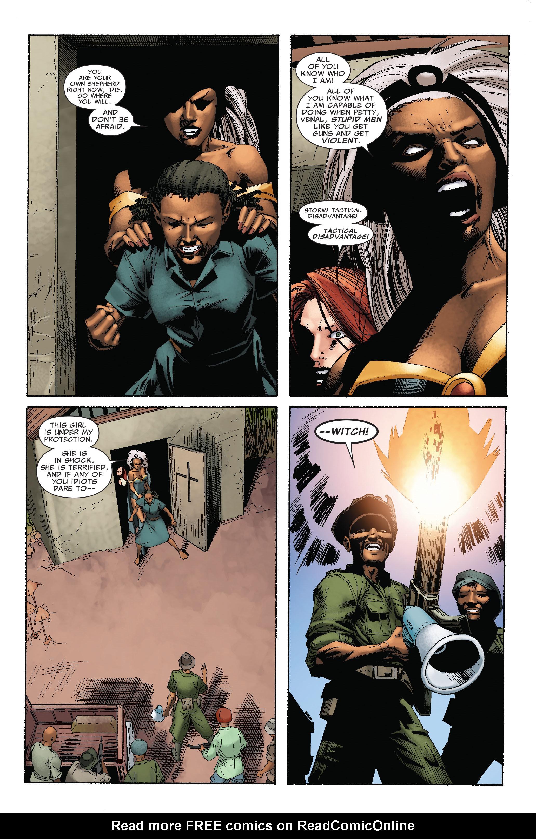 Read online Uncanny X-Men (1963) comic -  Issue #528 - 21