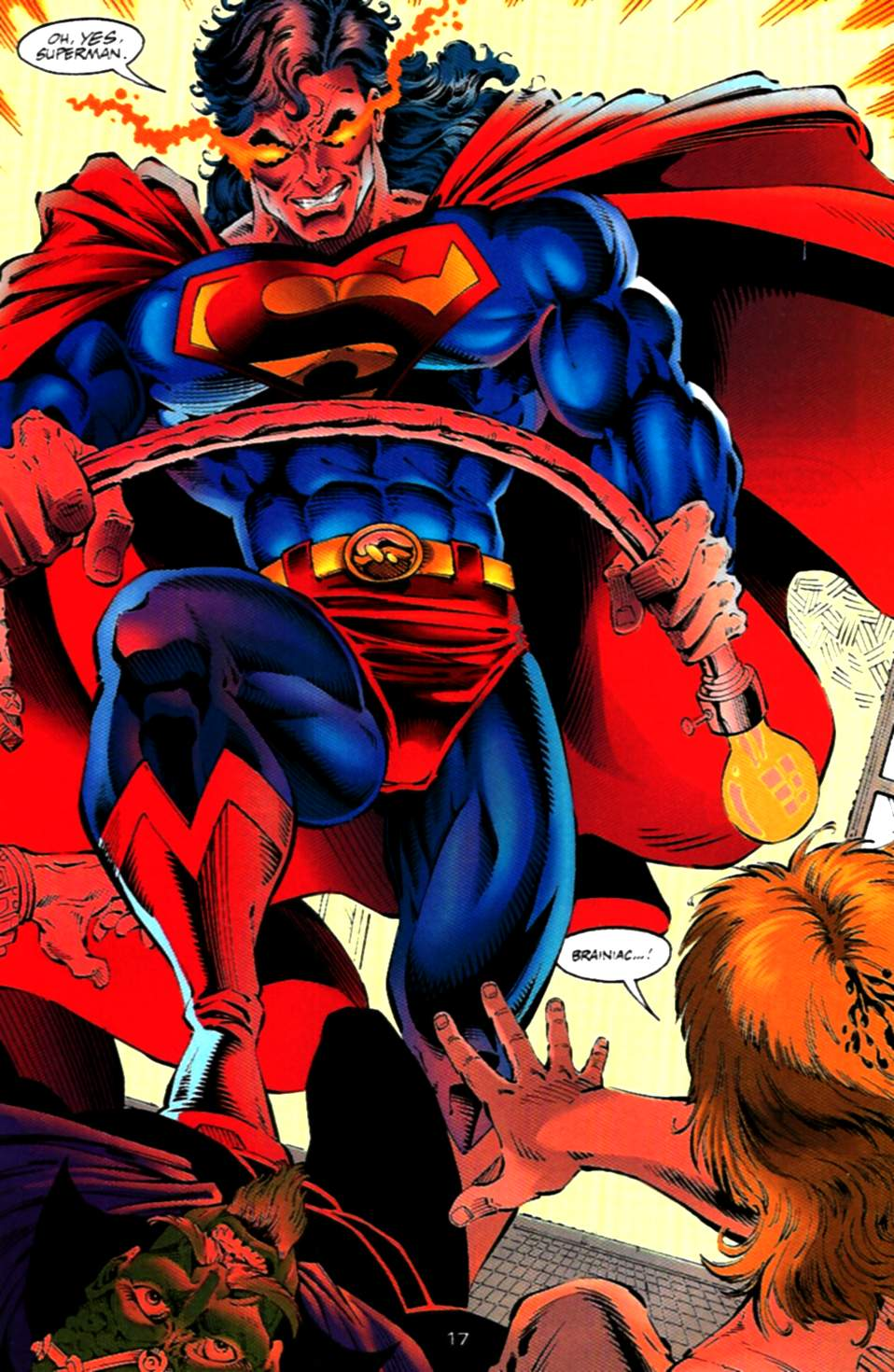 Read online Adventures of Superman (1987) comic -  Issue #536 - 18