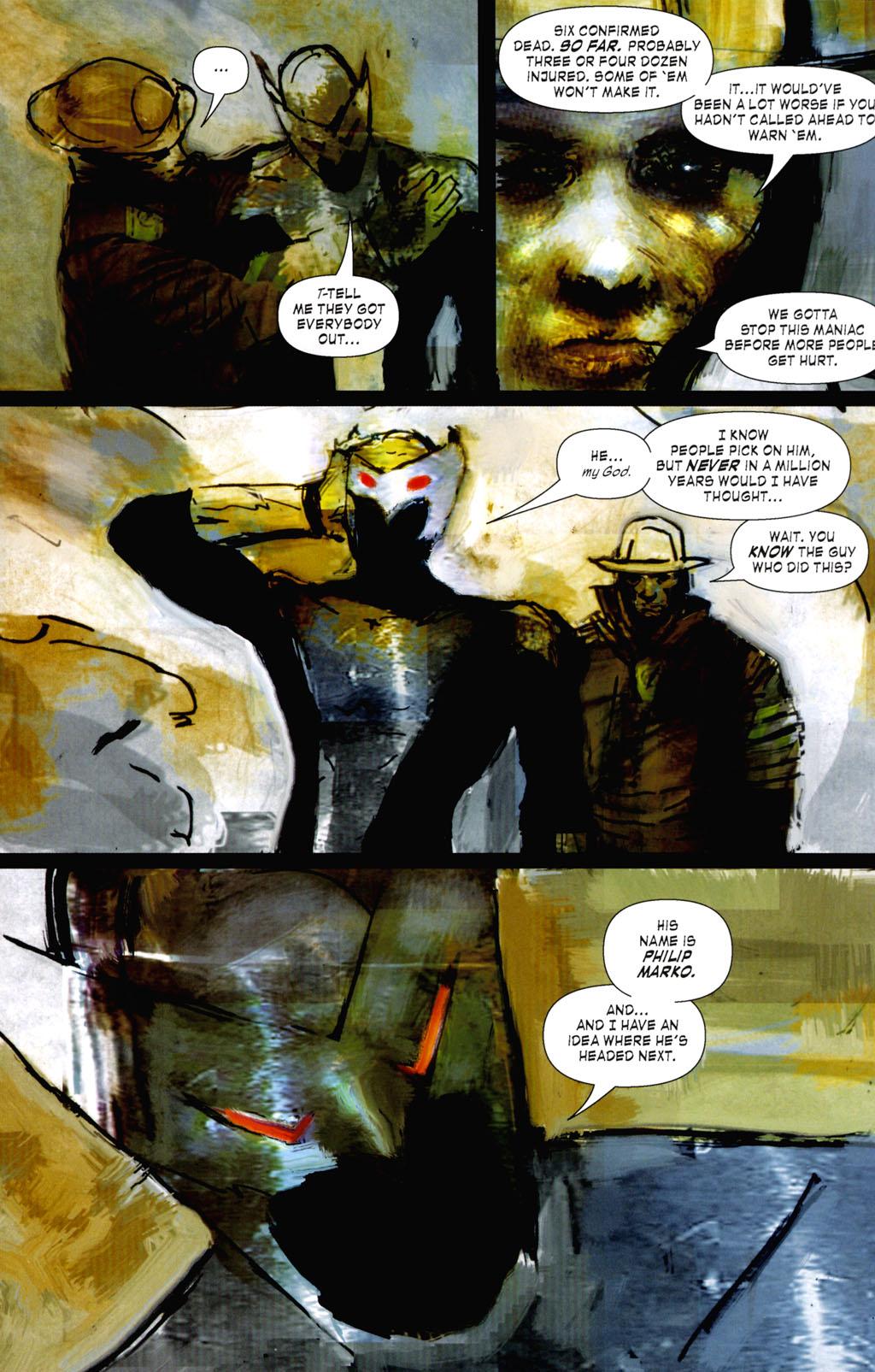 Read online ShadowHawk (2005) comic -  Issue #8 - 7