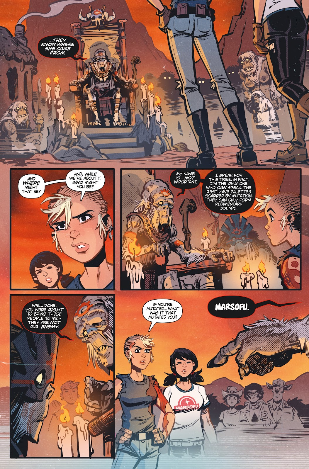 Read online Tank Girl Ongoing comic -  Issue #3 - 11