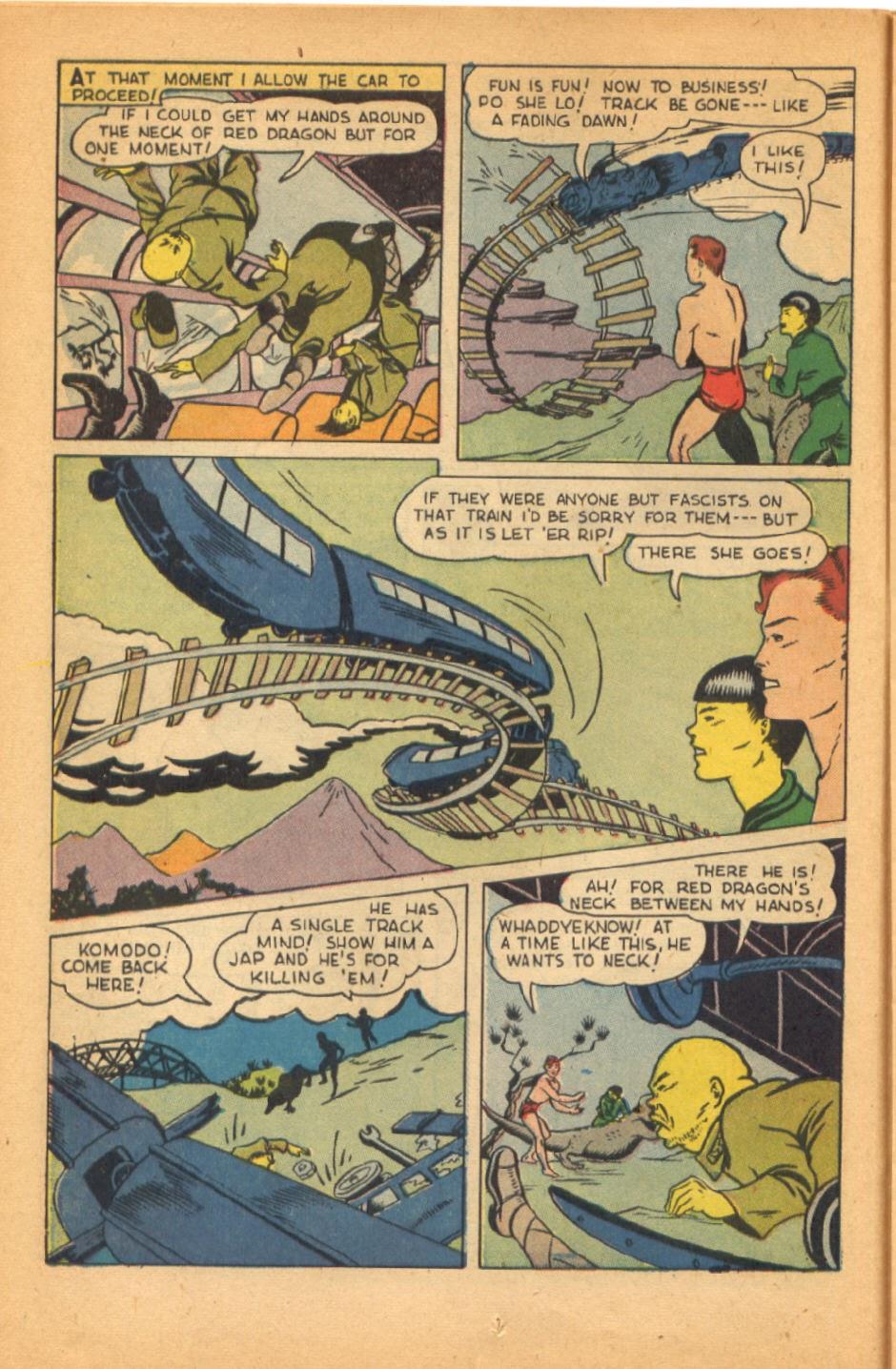 Read online Super-Magician Comics comic -  Issue #38 - 24