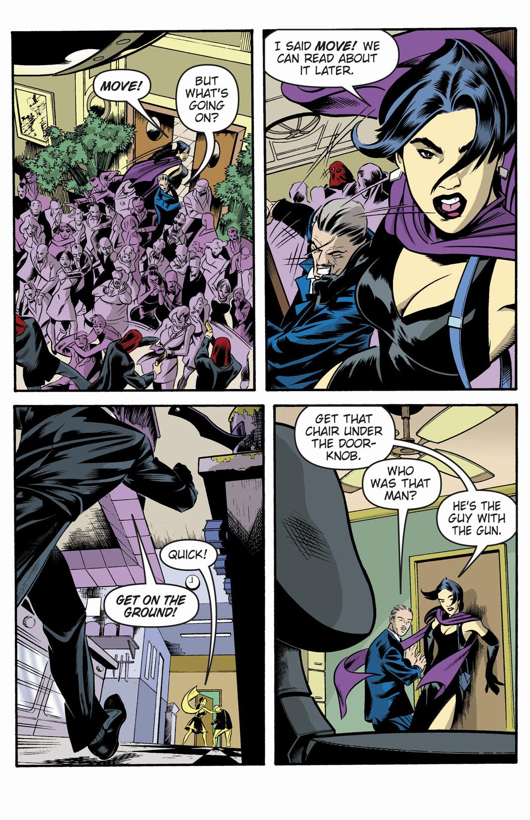 Read online SideChicks comic -  Issue #1 - 7