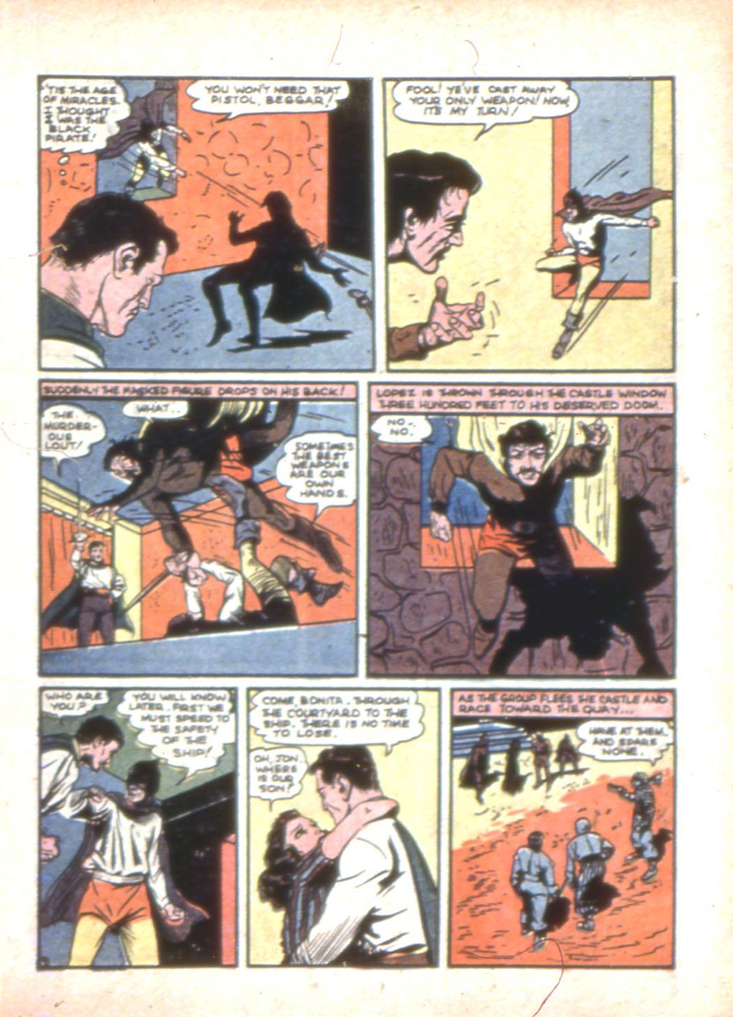 Read online Sensation (Mystery) Comics comic -  Issue #7 - 23