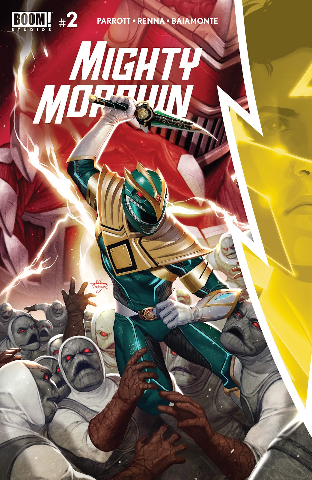 Mighty Morphin 2 Page 1