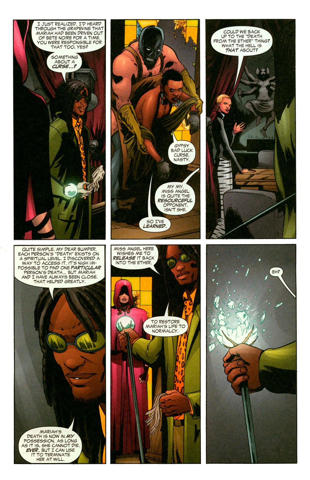 Read online Fallen Angel (2003) comic -  Issue #11 - 7
