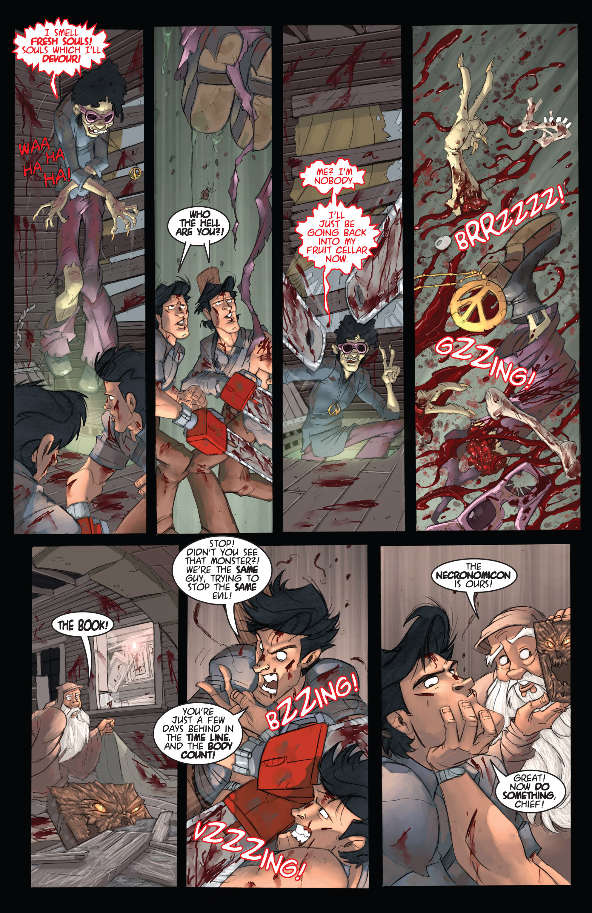 Read online Army of Darkness: Ashes 2 Ashes comic -  Issue #2 - 19