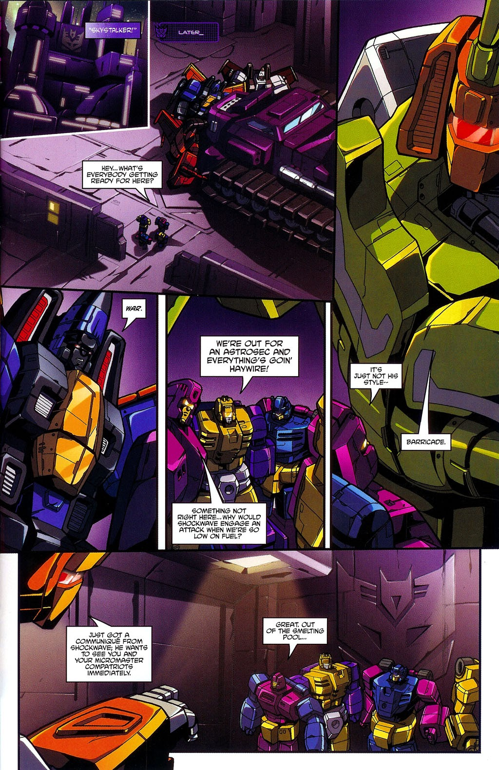 Read online Transformers: Micromasters comic -  Issue #3 - 23
