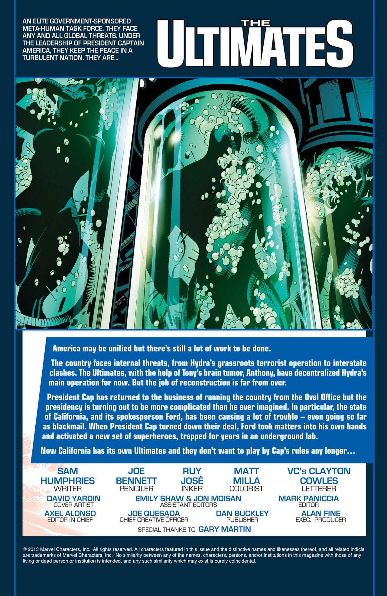 Read online Ultimate Comics Ultimates comic -  Issue #22 - 2