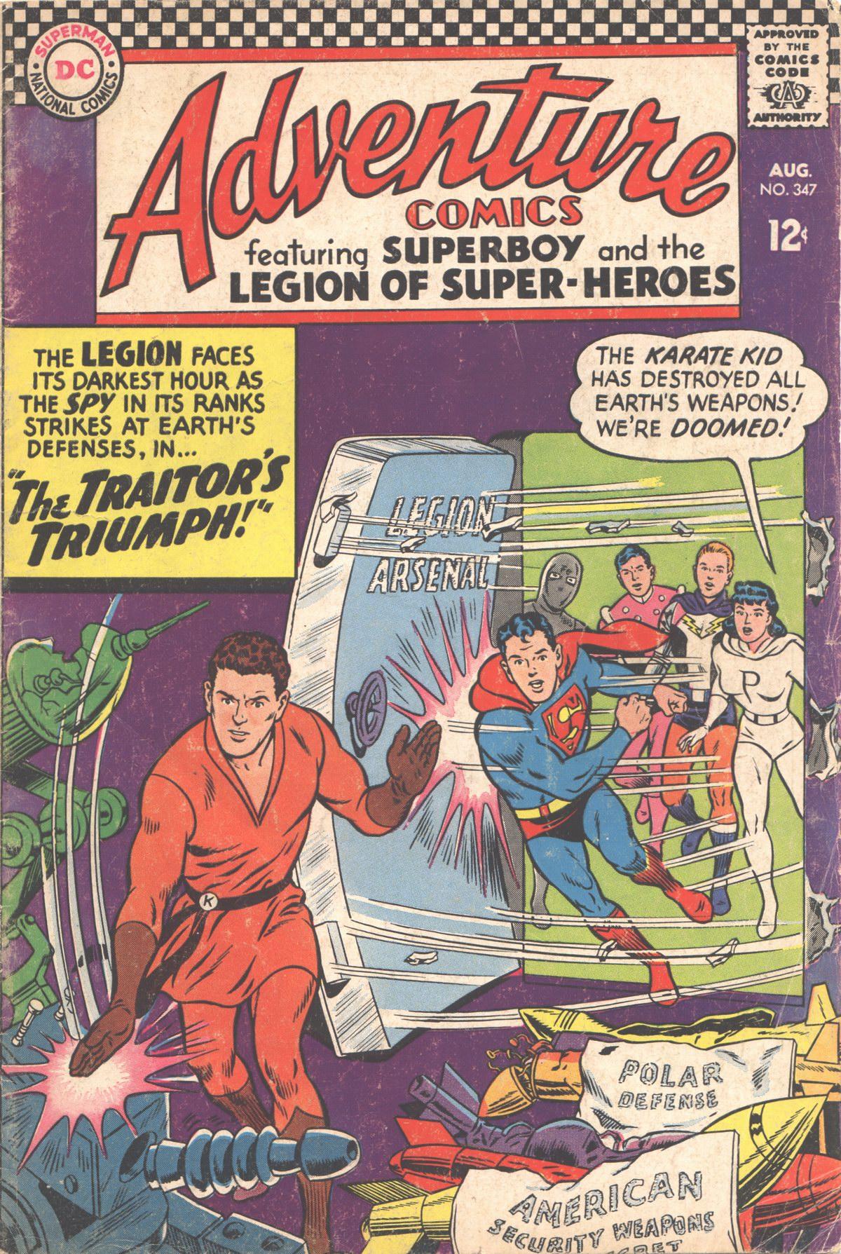 Adventure Comics (1938) 347 Page 1