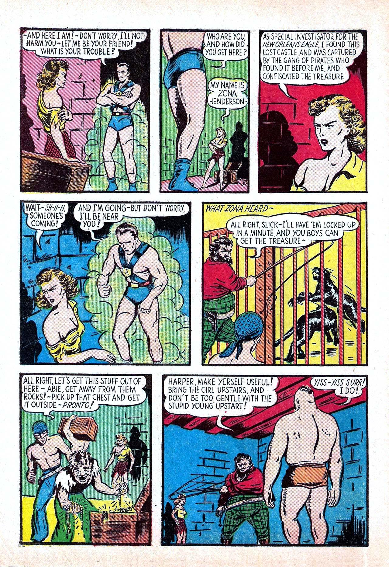 Read online Amazing Man Comics comic -  Issue #11 - 8