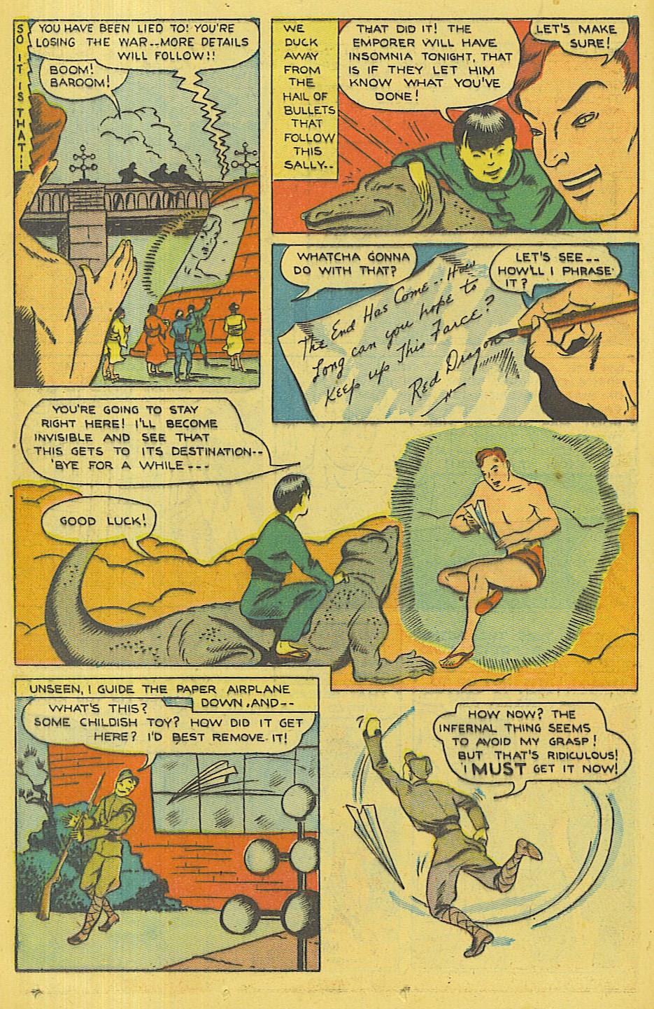 Read online Super-Magician Comics comic -  Issue #42 - 29
