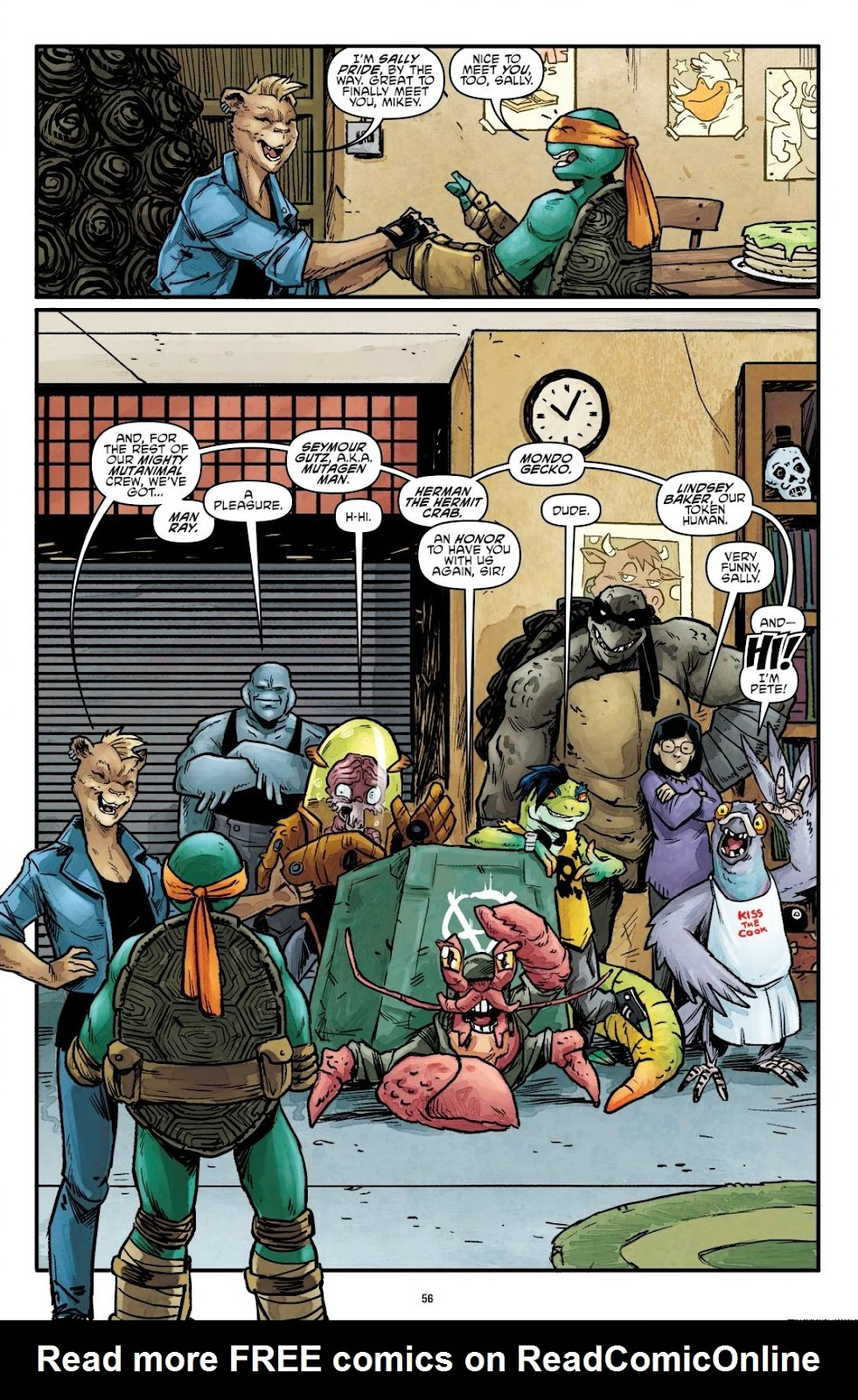 Read online Teenage Mutant Ninja Turtles: The IDW Collection comic -  Issue # TPB 7 (Part 1) - 55