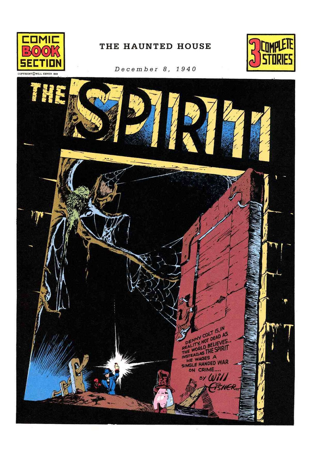 Read online Will Eisner's The Spirit Archives comic -  Issue # TPB 1 (Part 2) - 91