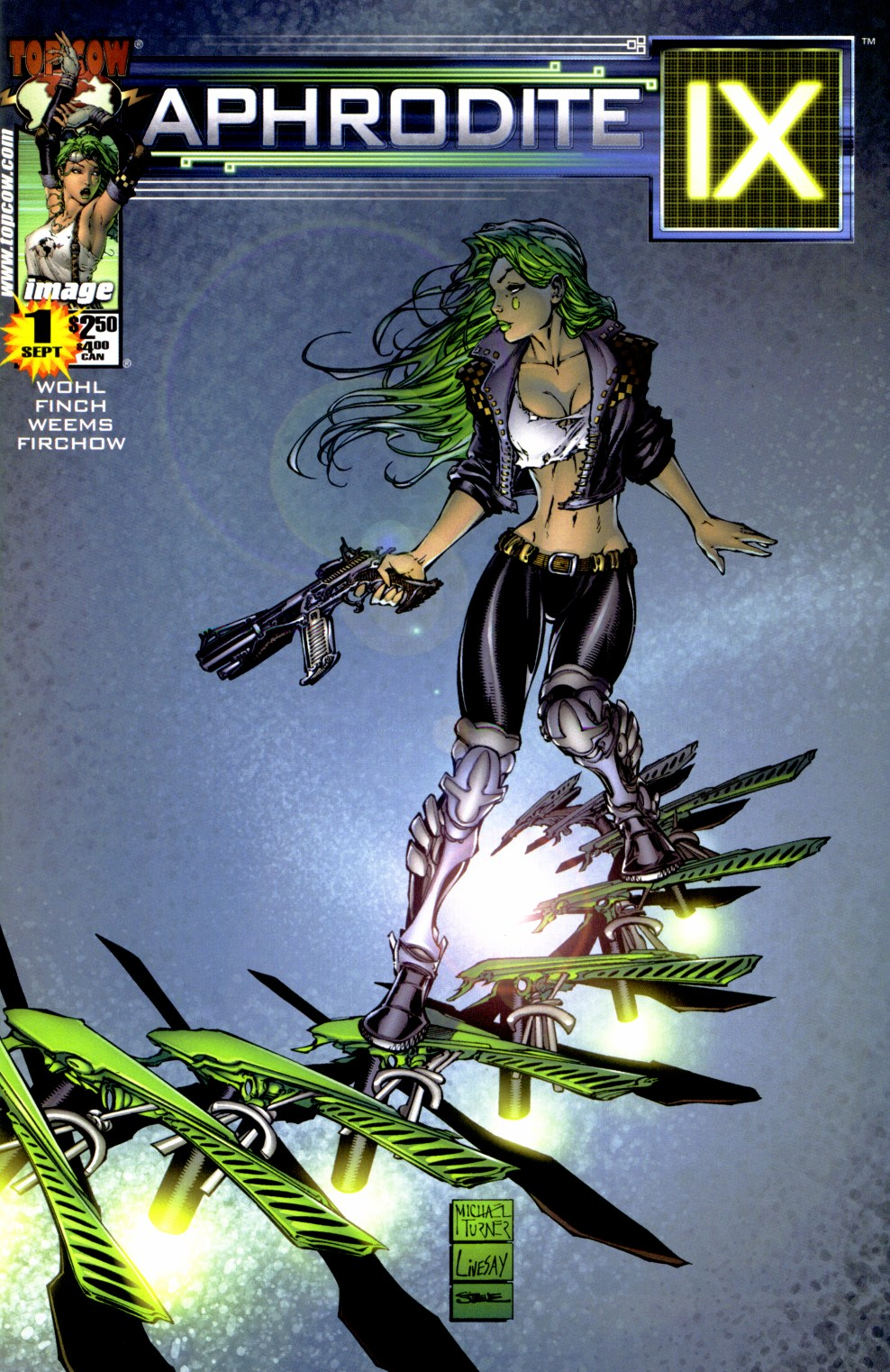 Read online Aphrodite IX (2000) comic -  Issue #1 - 1