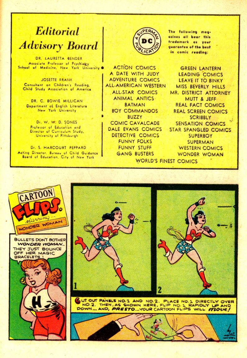 Read online Sensation (Mystery) Comics comic -  Issue #88 - 38