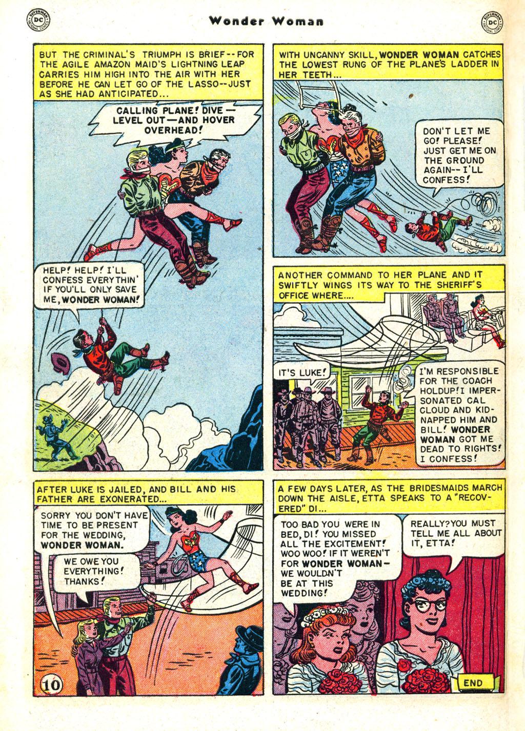 Read online Wonder Woman (1942) comic -  Issue #45 - 48