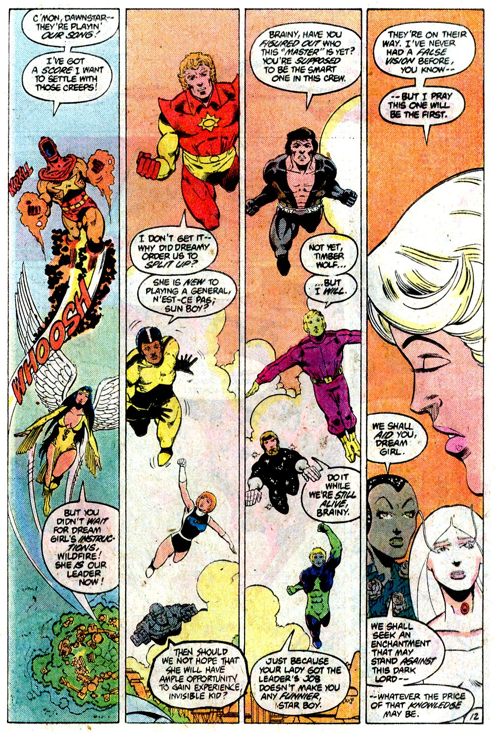 Legion of Super-Heroes (1980) 292 Page 12