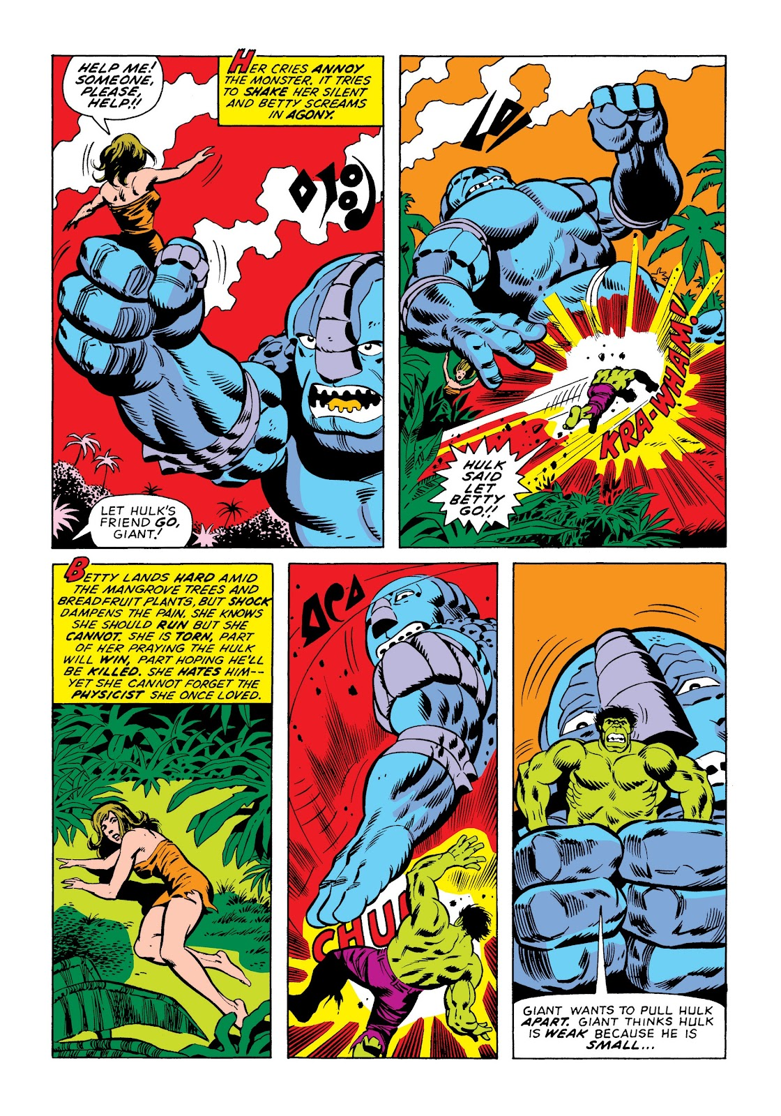Read online Marvel Masterworks: The Incredible Hulk comic -  Issue # TPB 9 (Part 3) - 82