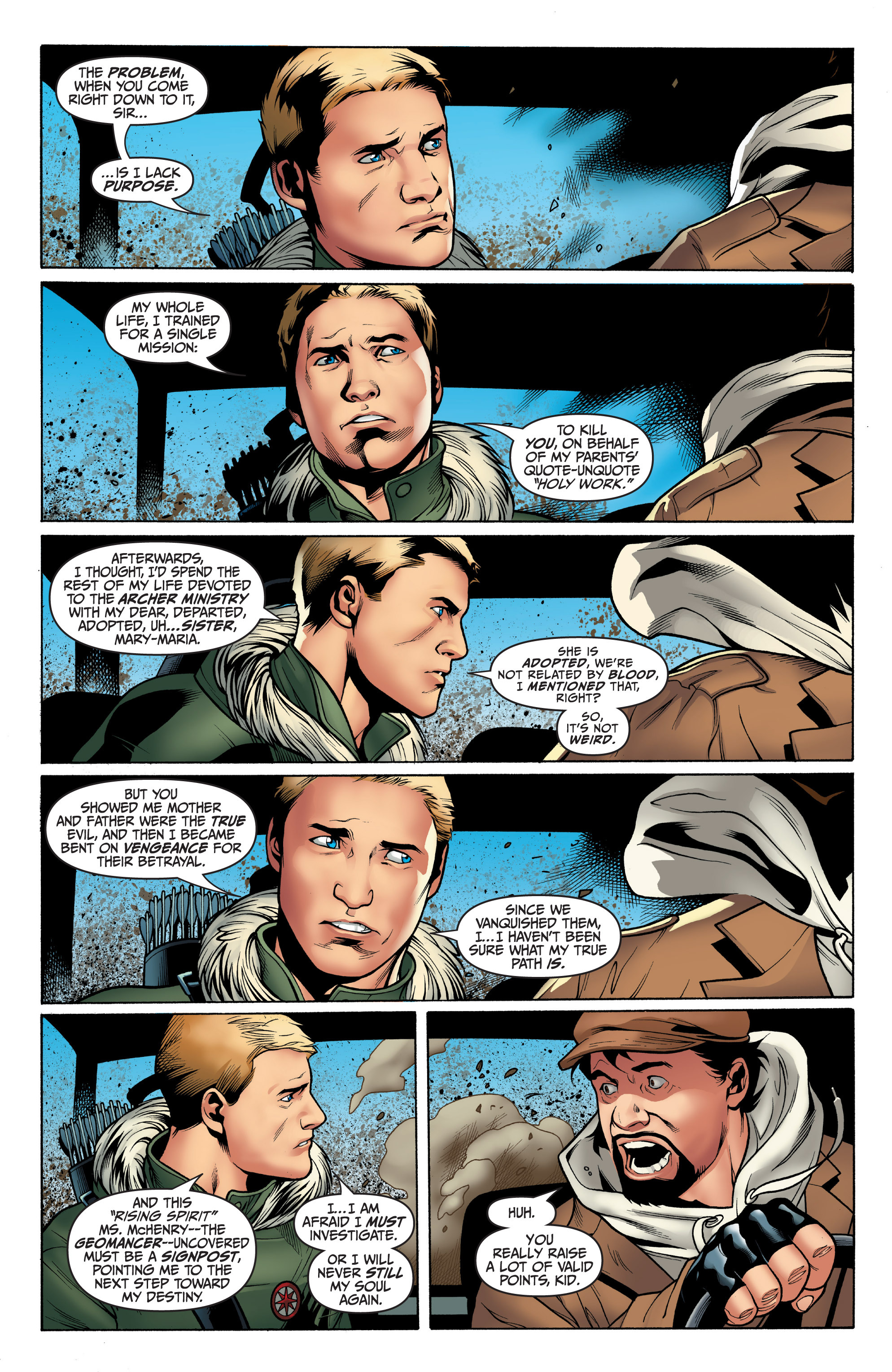 Read online Archer and Armstrong comic -  Issue #8 - 8