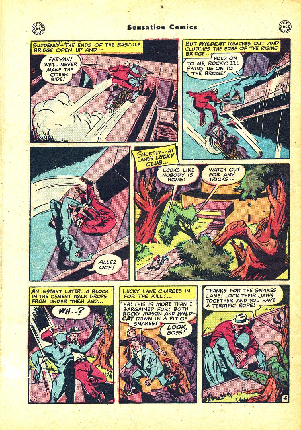 Read online Sensation (Mystery) Comics comic -  Issue #81 - 48