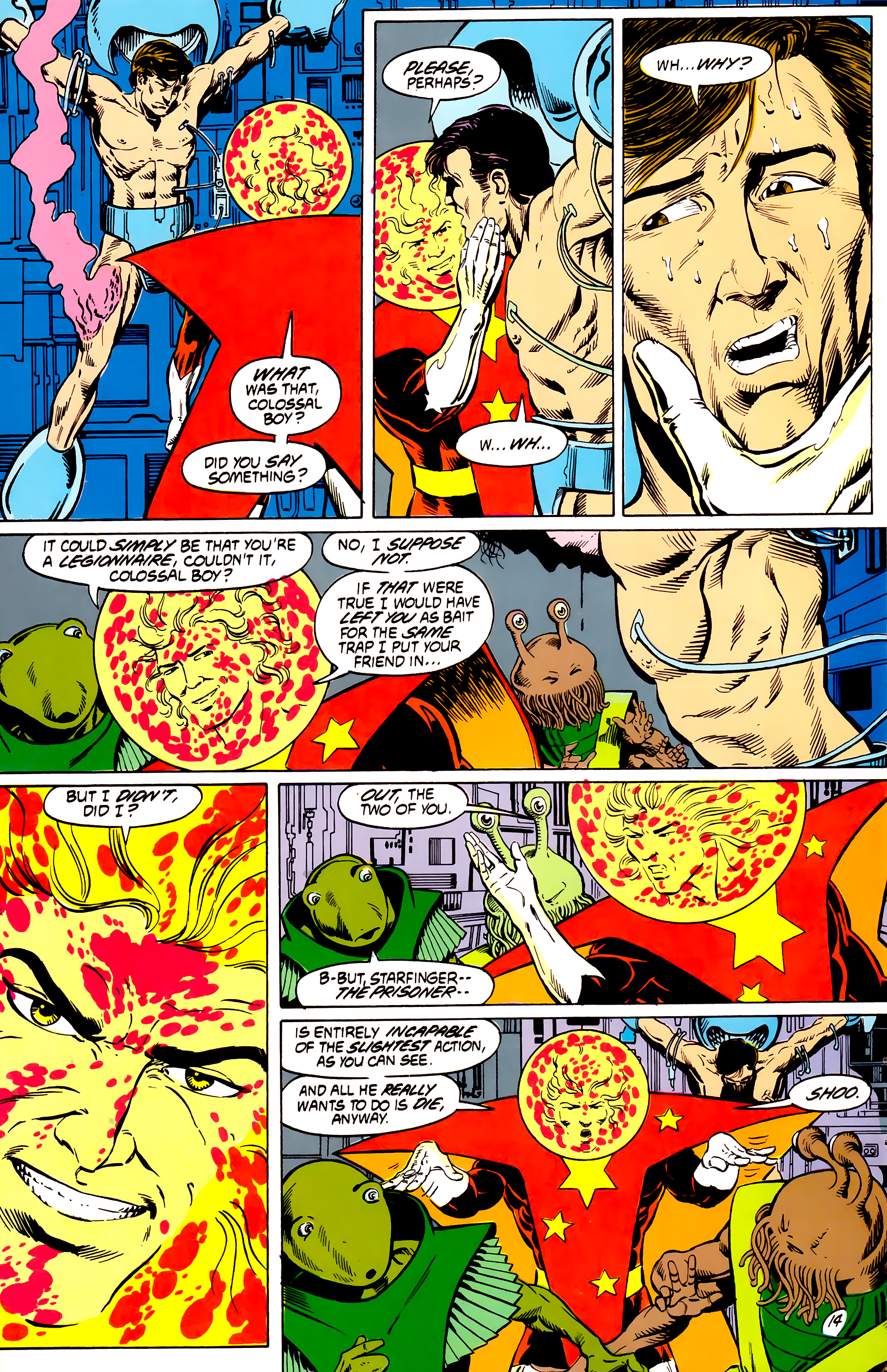 Legion of Super-Heroes (1984) _Annual_4 Page 14