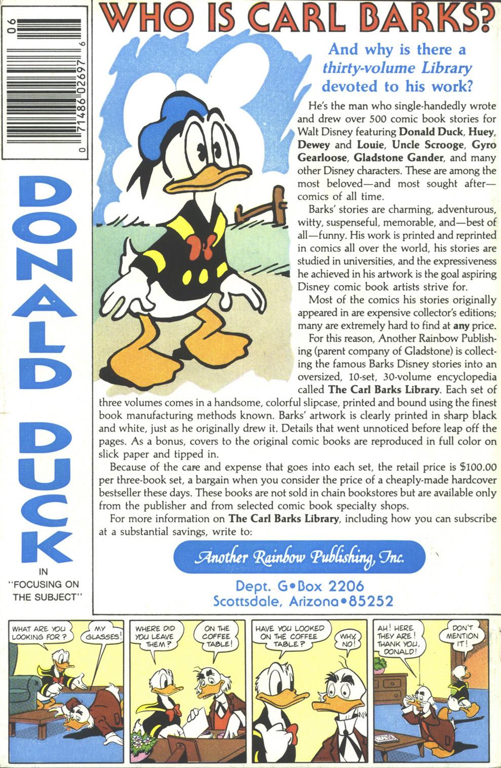 Walt Disneys Donald Duck (1986) 254 Page 36