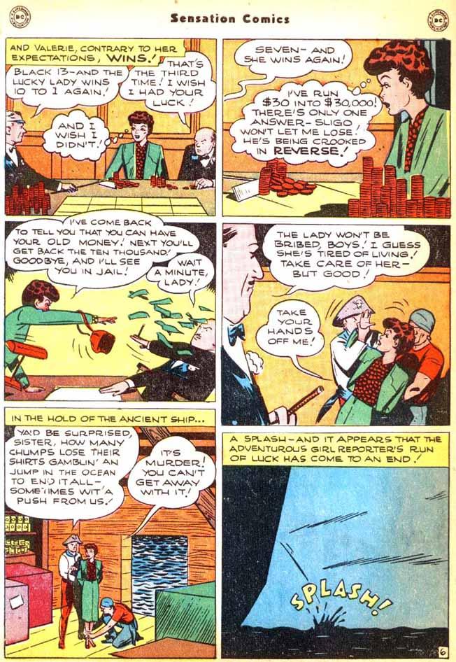 Read online Sensation (Mystery) Comics comic -  Issue #92 - 44