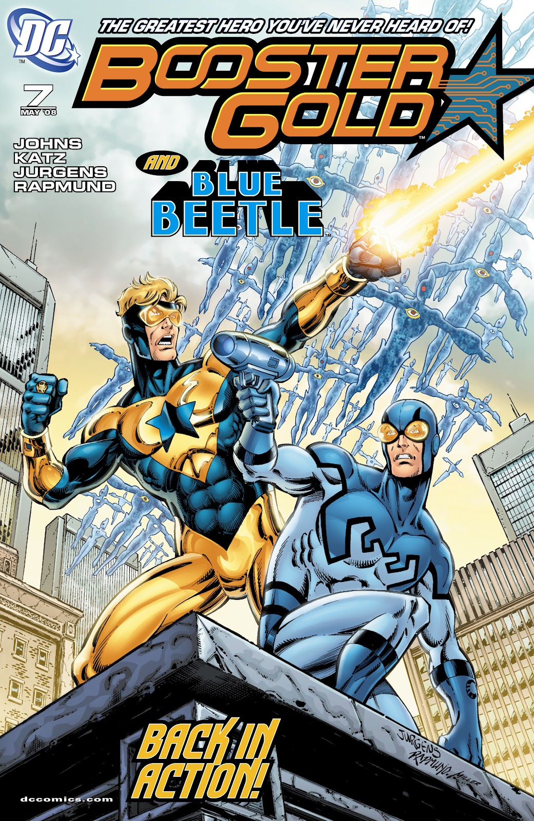 Booster Gold (2007) issue 7 - Page 1