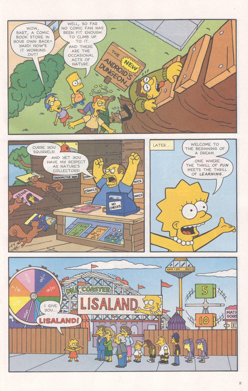 Read online Simpsons Comics comic -  Issue #93 - 12