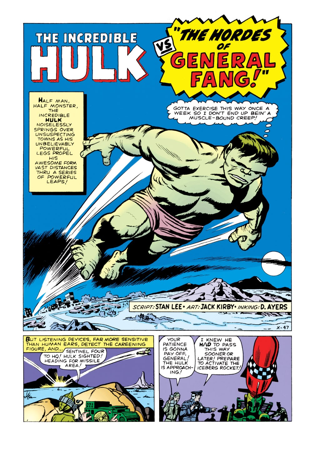 Read online Marvel Masterworks: The Incredible Hulk comic -  Issue # TPB 1 (Part 2) - 16