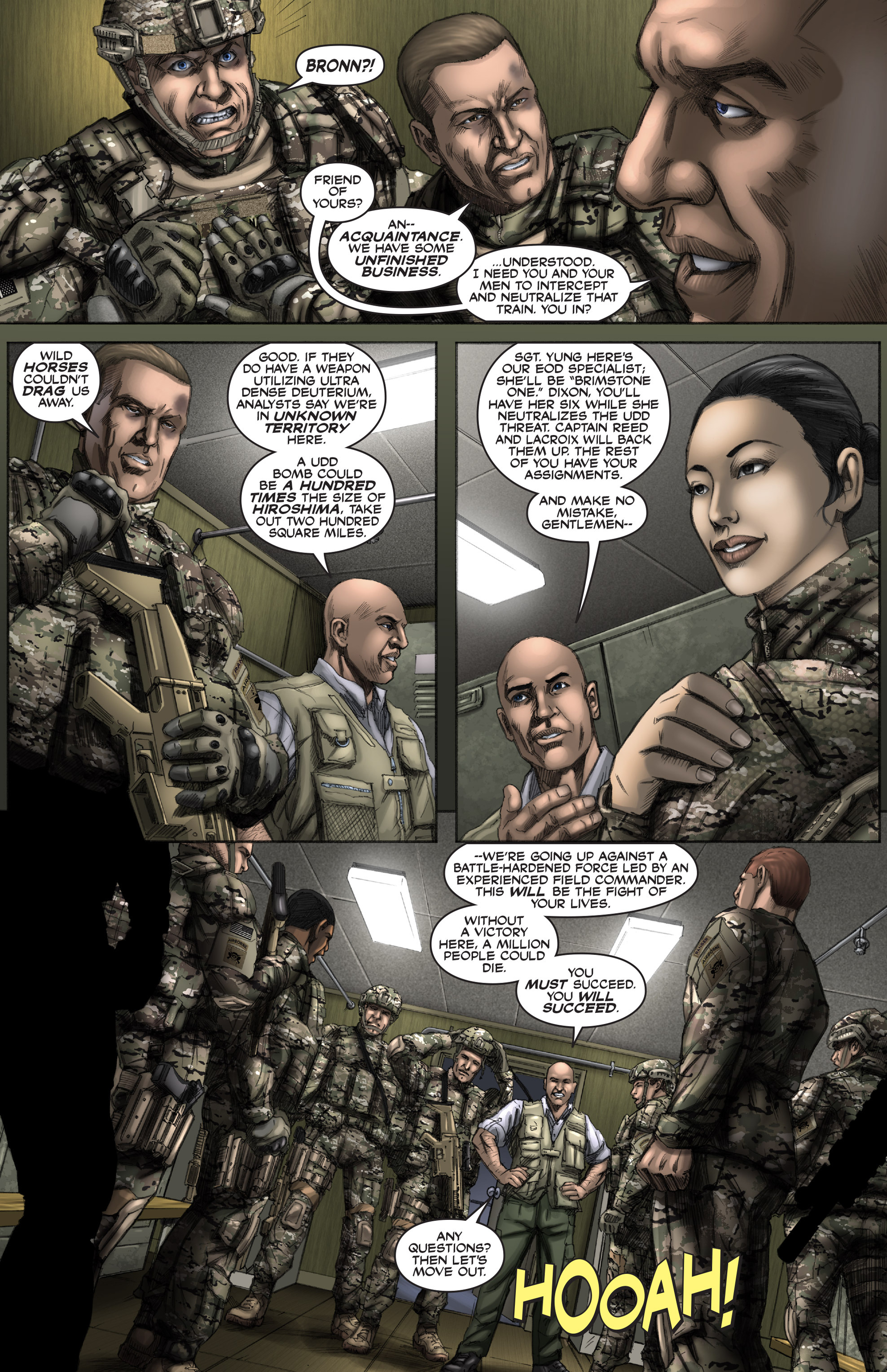 Read online America's Army comic -  Issue #12 - 5