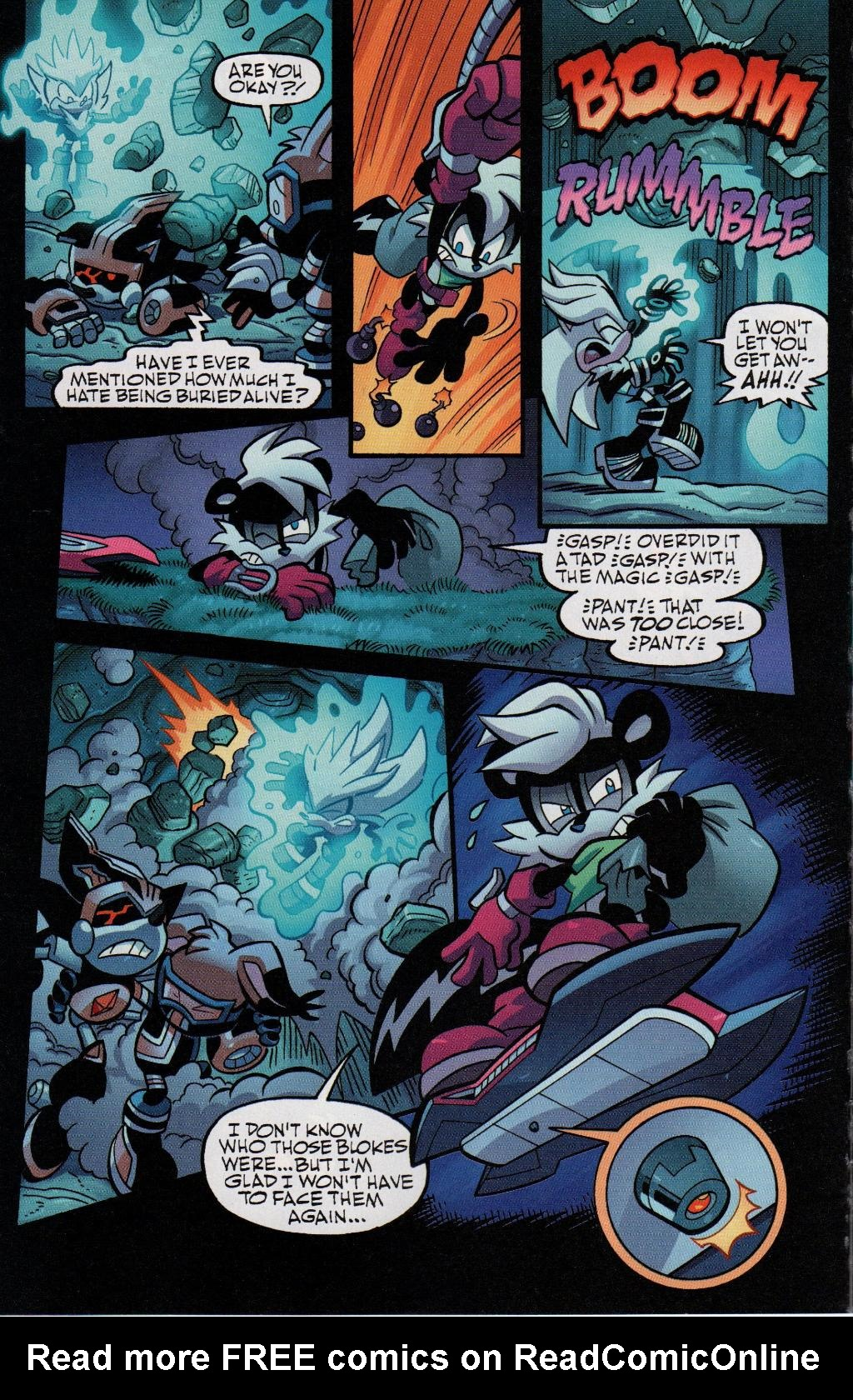 Read online Sonic Universe comic -  Issue #41 - 28
