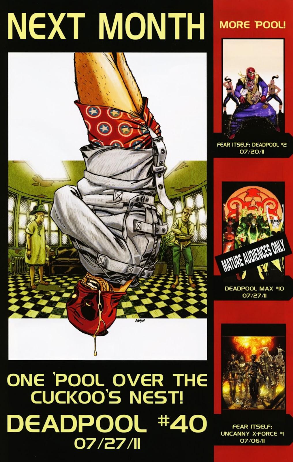 Read online Deadpool (2008) comic -  Issue #39 - 23