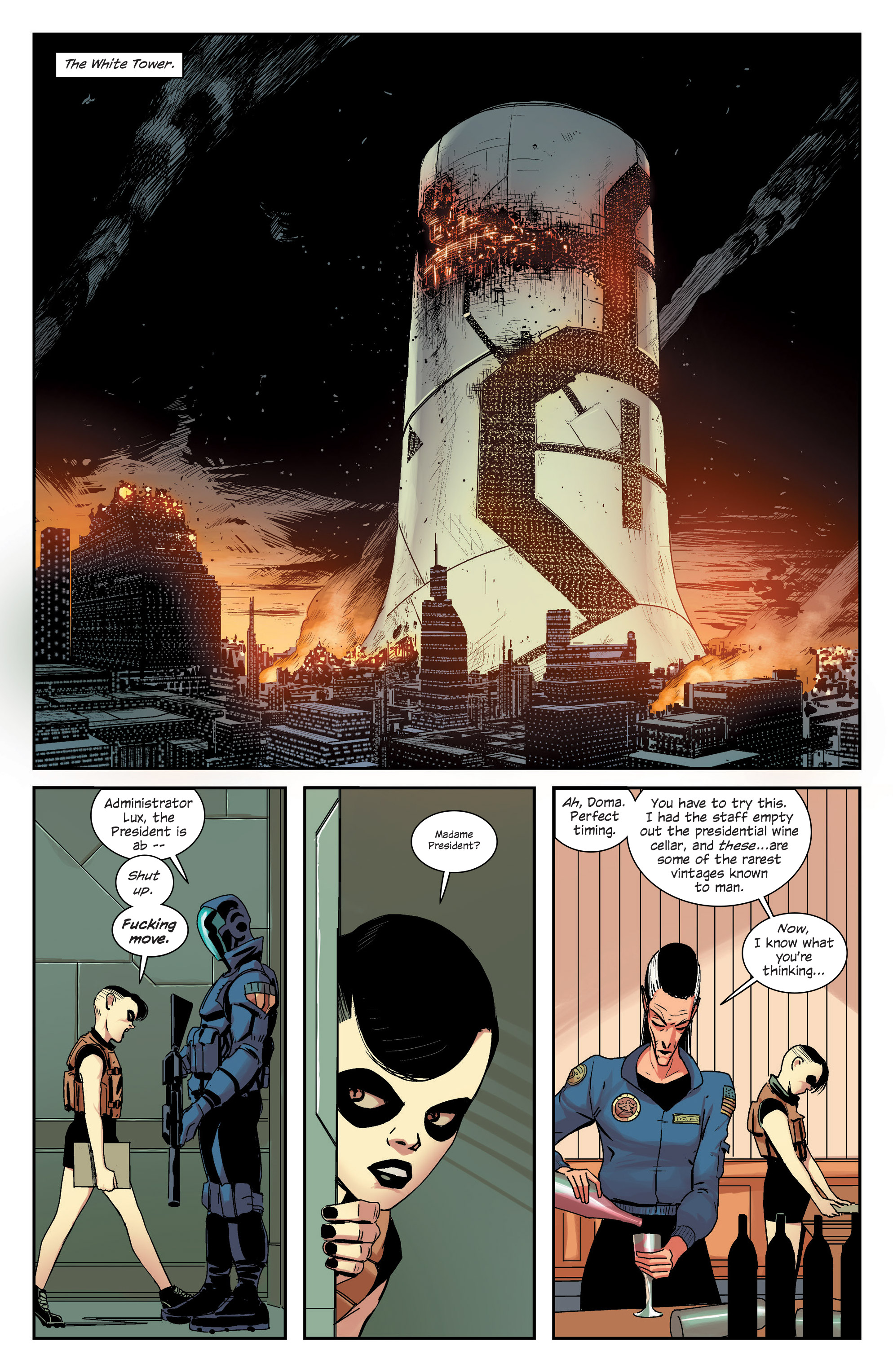 Read online East Of West comic -  Issue #33 - 9