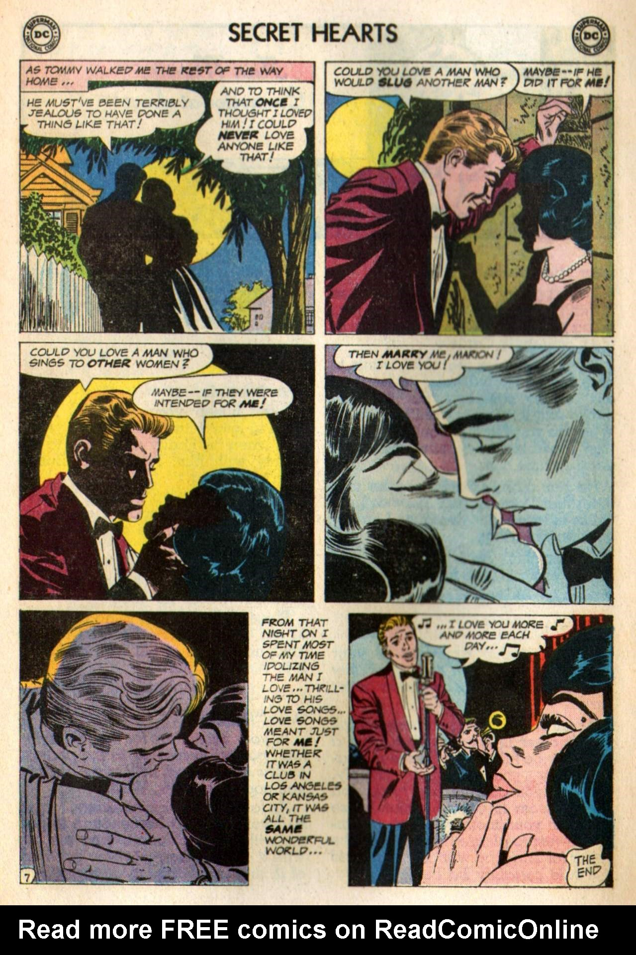 Read online Secret Hearts comic -  Issue #98 - 17