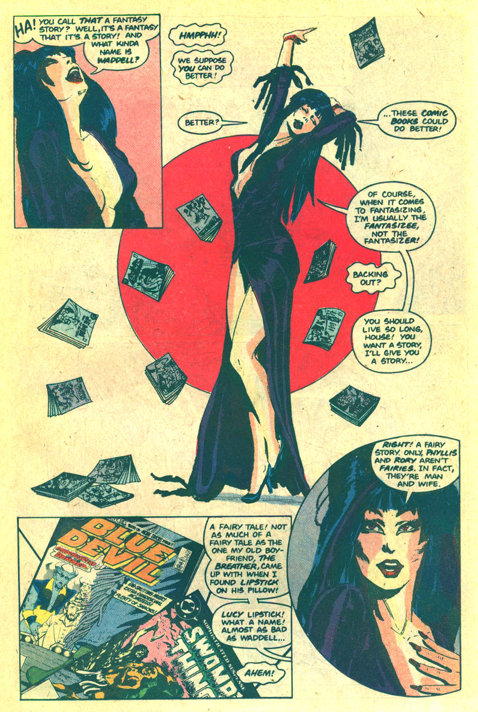 Elvira's House of Mystery Issue #5 #6 - English 14