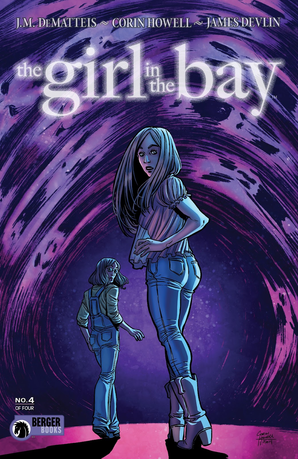 Read online The Girl In The Bay comic -  Issue #4 - 1